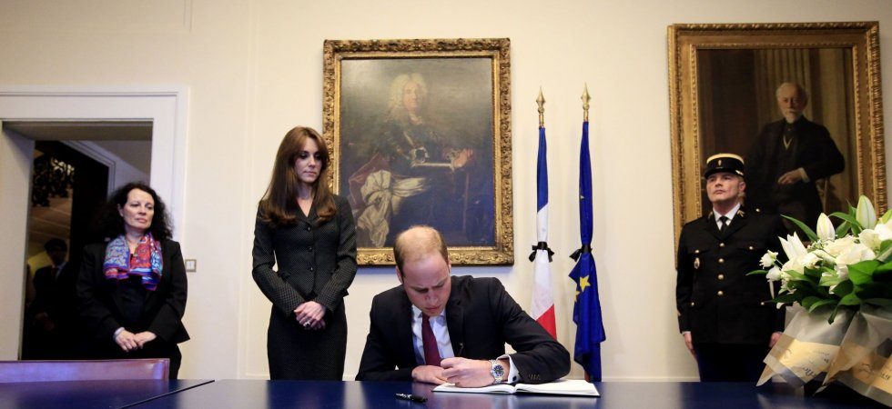 Kate Middleton et le prince William font part de leurs condoléances à la France