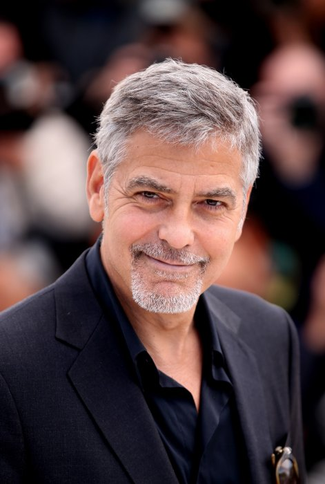 "George Clooney au photocall de ""Money Monster"" au Festival de Cannes, le 12 mai 2016."