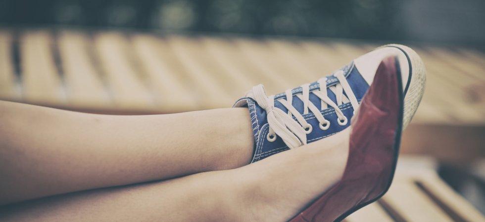 7754f41335e Chaussures dépareillées   la nouvelle tendance