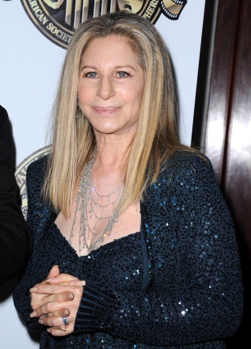 Barbra Streisand en marge des Directors Guild of America Awards à Los Angeles, le 15 février 2015.