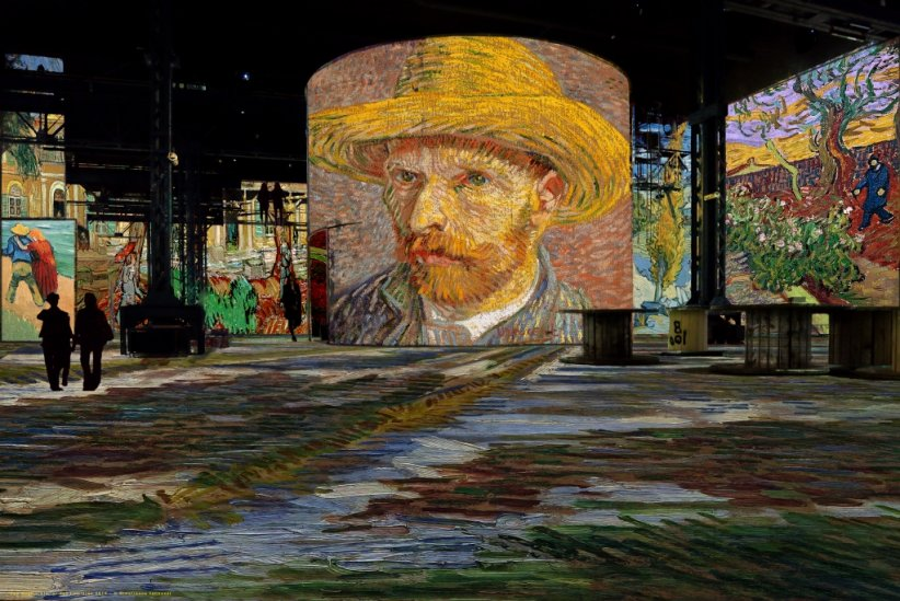 Van Gogh, un spectacle de lumières à Paris