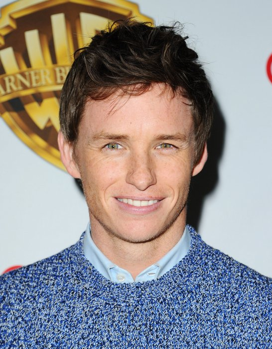 "Eddie Redmayne à la présentation ""The Big Picture"" de Warner Bros, lors de la CinemaCon à Las Vegas, le 12 avril 2016."