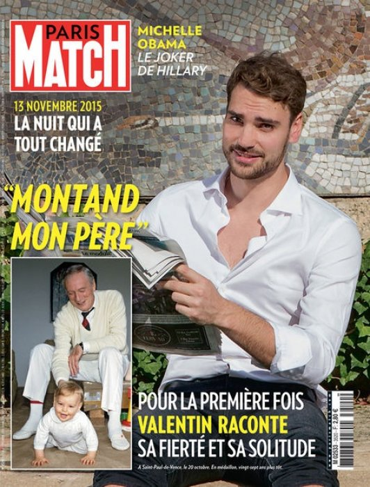 Couverture de Paris Match, en kiosque le 3 novembre 2016.