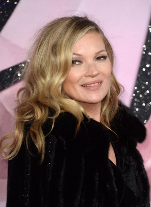Kate Moss aux Fashion Awards à Londres, le 5 décembre 2016.