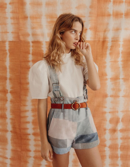 Le denim en version patchwork