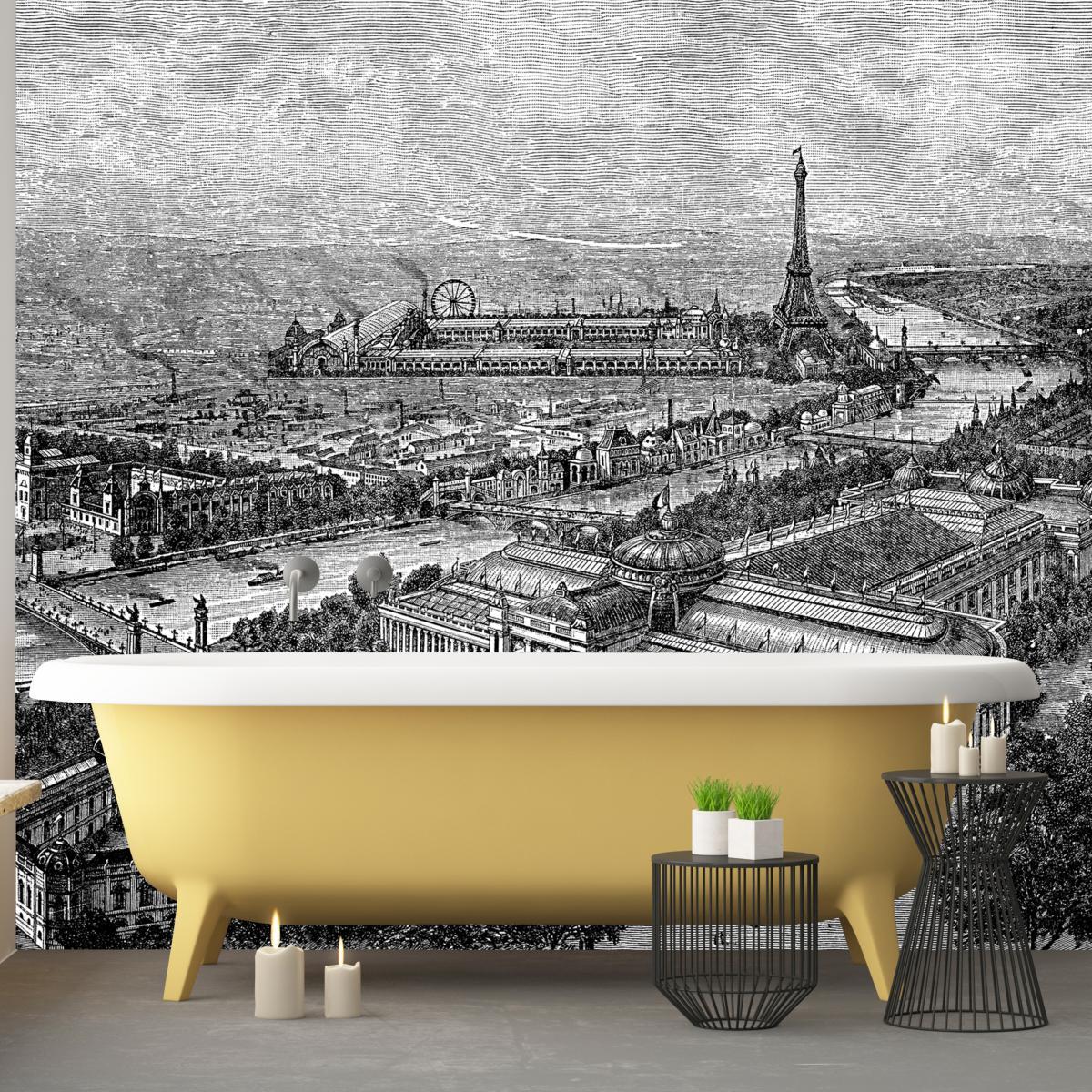 Paris Dans Sa Salle De Bains