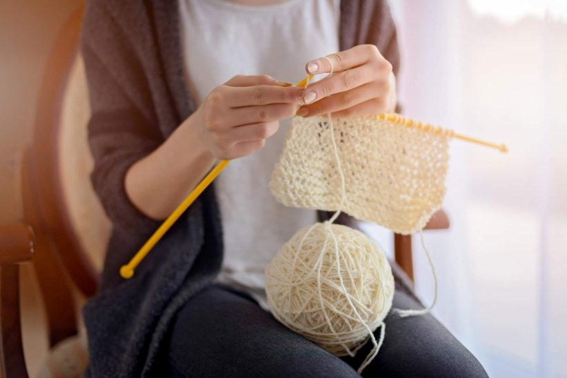 une autre chance extrêmement unique coût modéré Tuto : comment se tricoter facilement une écharpe ?