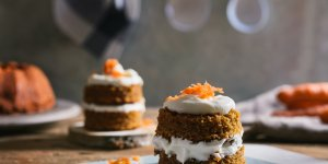 Mini carrot cake au cream cheese