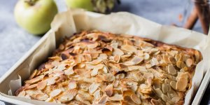 Apple pie aux amandes effilées