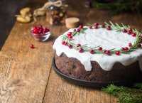 Christmas cake so British