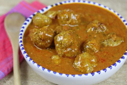 Boulettes d'agneau au curry