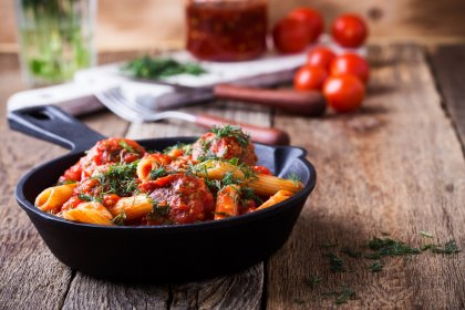 One pot pasta aux boulettes