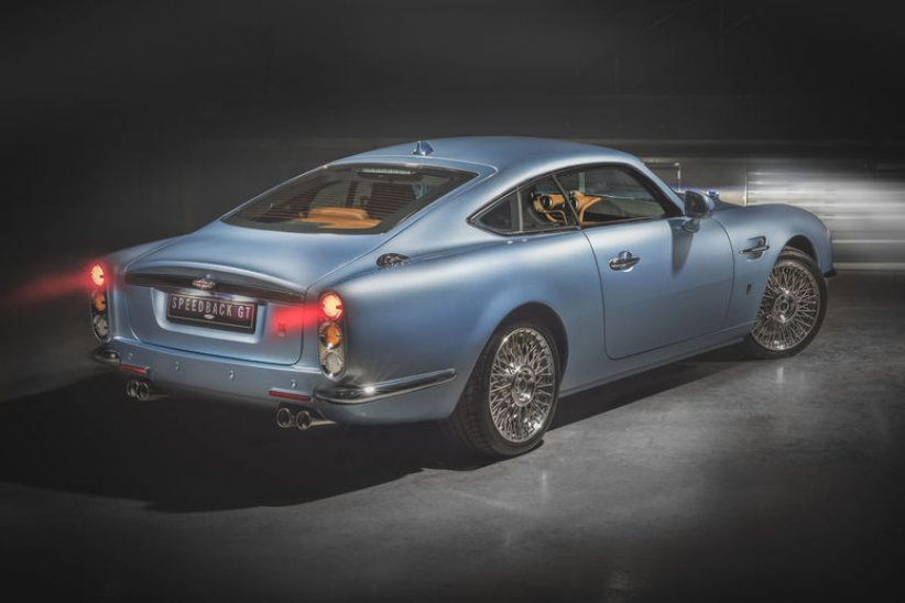 Des nouvelles de la Speedback GT de David Brown Automotive