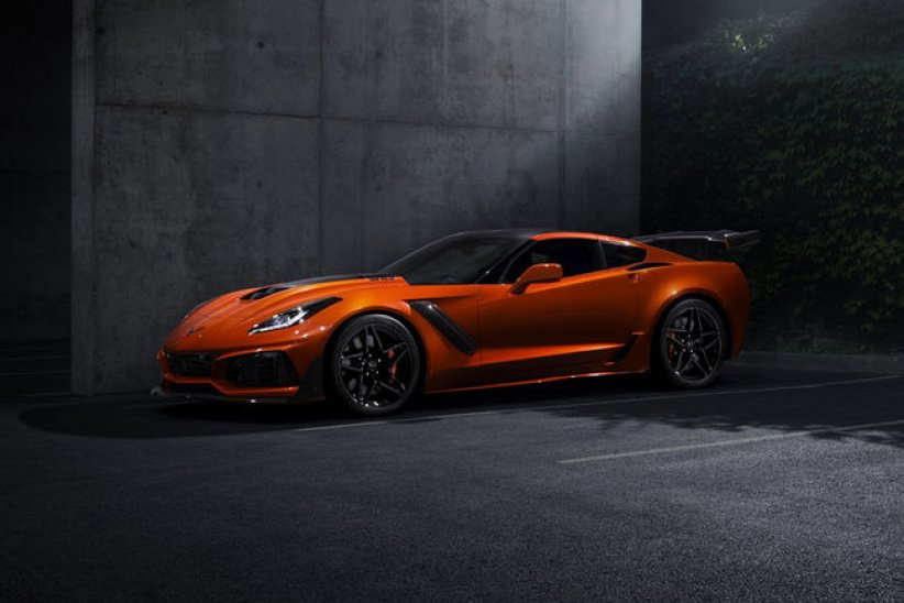 Corvette ZR1 : 341 km/h en pointe