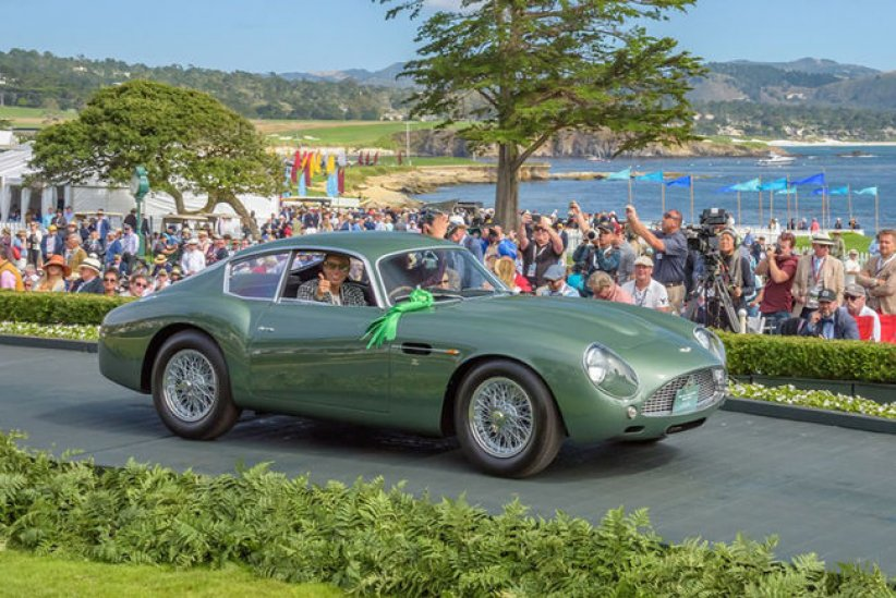 Une Bentley primée à Pebble Beach