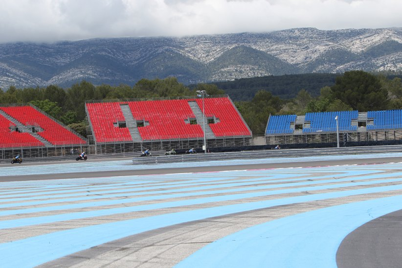 Tribunes GP F1 Paul Ricard