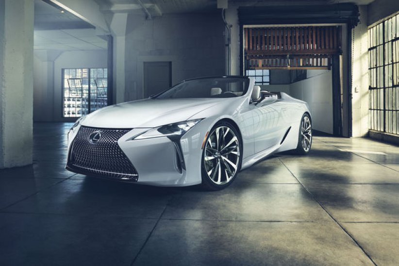 Le Lexus LC Convertible à Goodwood?