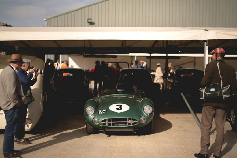 Aston Martin au Goodwood Revival