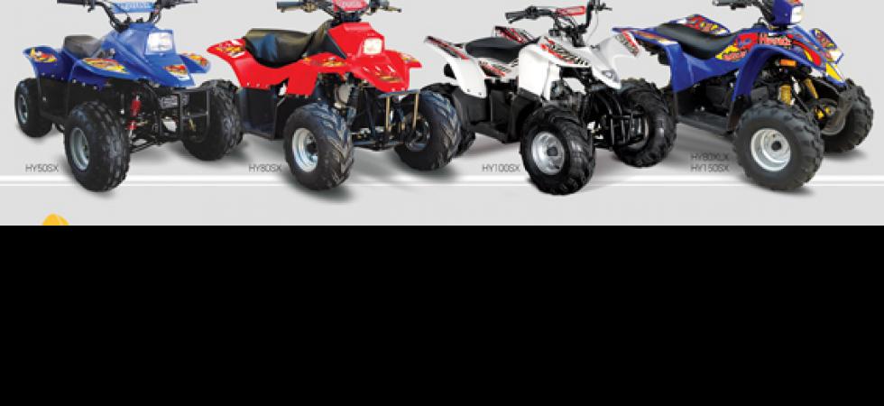 Hytrack, une gamme complète de quads enfant   actualité automobile ... d8e31d0283fc