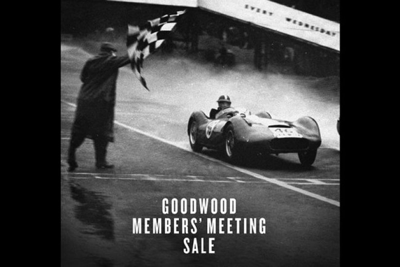 Bonhams maintient la vente de Goodwood