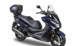 Kymco X-Town 125 Exclusive : version équipée Dark Blueberry