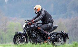 Husqvarna 1301 : la Super Duke R version power racer
