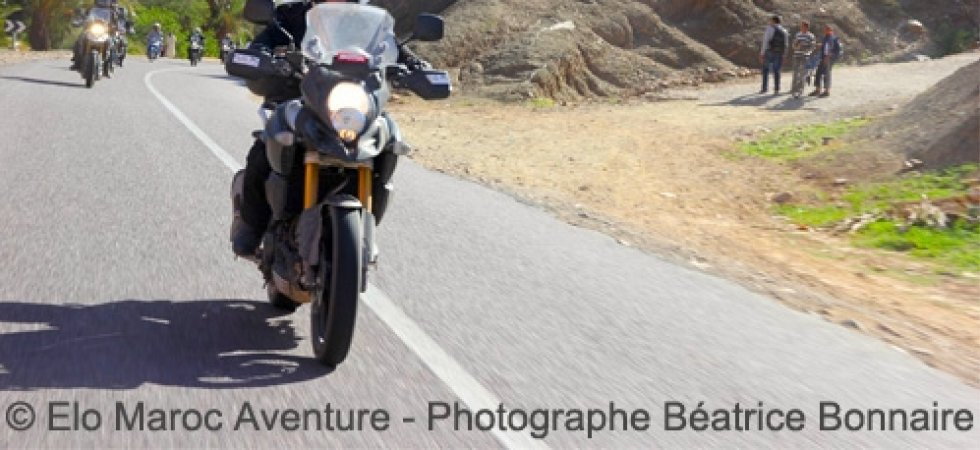 Rando Suzuki V-Strom : direction Marrakech