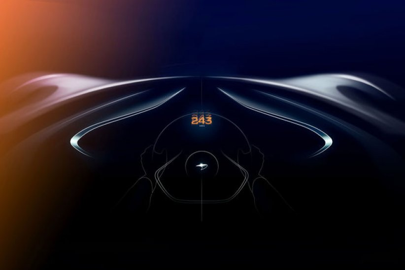 McLaren BP23 : 391 km/h en pointe