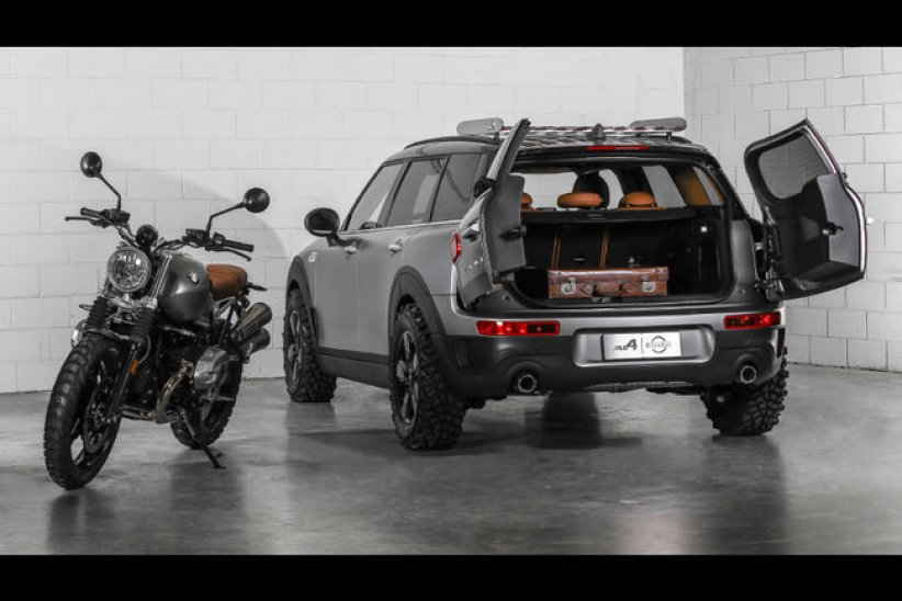 Concept Mini Clubman All4 Scrambler
