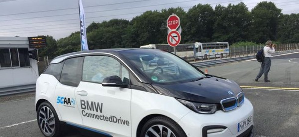 BMW appelle l'Europe à autoriser la 5G en voiture