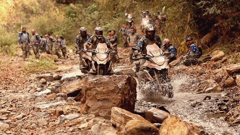 BMW GS TROPHY - Crédits photo : BMW Motorrad
