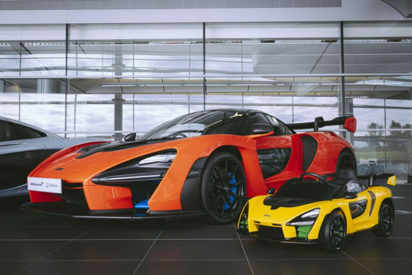 Nouvelle McLaren Senna « Ride-On »