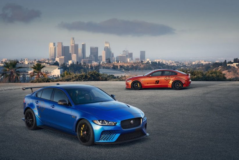 La Jaguar XE SV Project 8 aux USA
