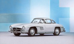 Mercedes et la 300 SL Gullwing
