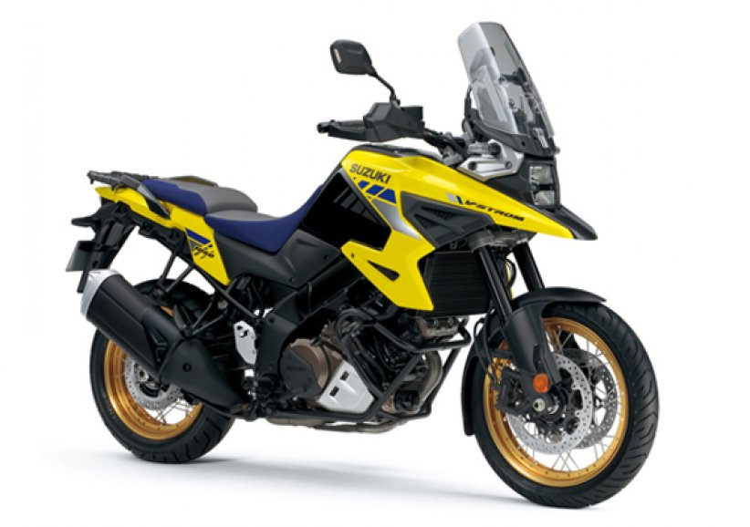 Suzuki V-Strom 1050 XT et version A2