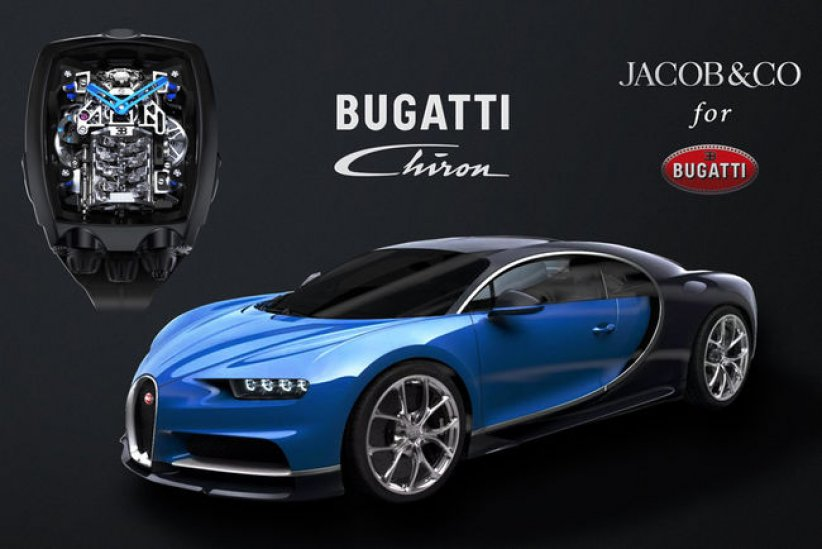Montre Bugatti Chiron Tourbillon par Jacob & Co