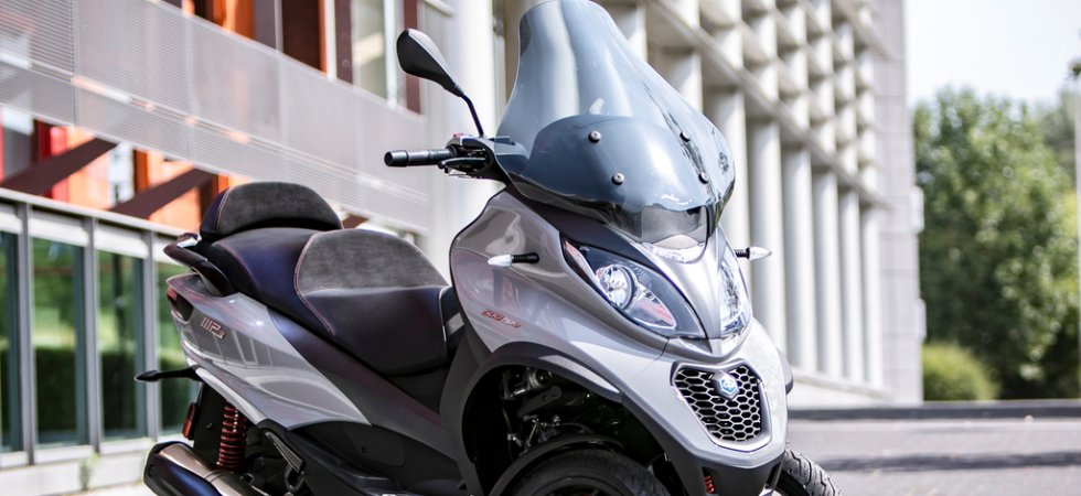 Urban Days : des remises en septembre sur les Piaggio MP3