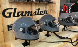 Shoei Glamster : rétro et techno | Salon Milan 2019
