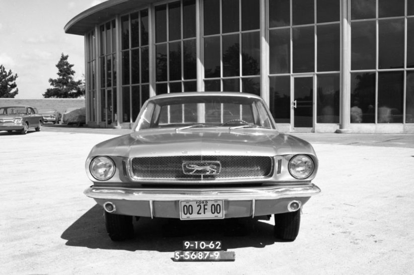 Prototype Ford Mustang (septembre 1962)