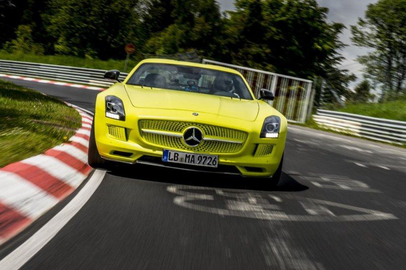Mercedes SLS AMG Electric Drive (2013)