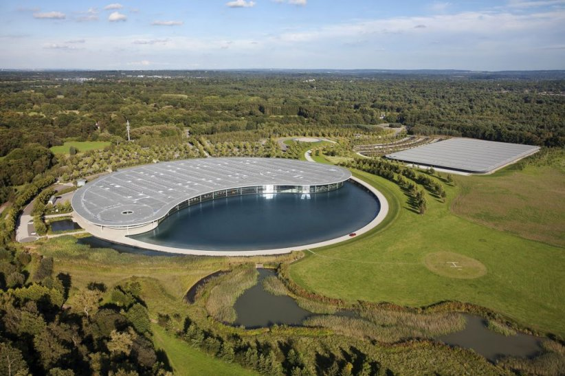 Le McLaren Technology Center (MTC)