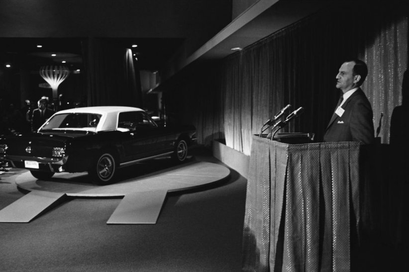 Présentation à la World's Fair par Lee Iacocca