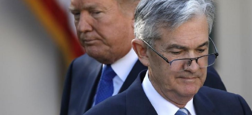 Fed: envers et contre Trump, Powell s'accroche à son mandat !