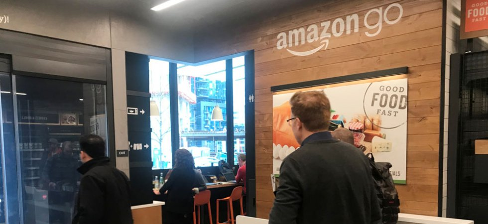Amazon lance à Seattle son magasin automatisé destiné au grand public