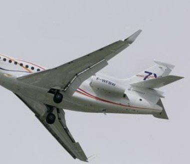 Dassault Aviation : l'Australie réceptionne son premier Falcon 7X VIP