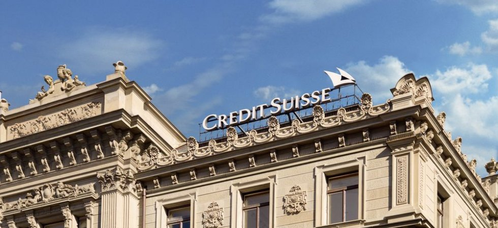 Credit Suisse : bond des profits trimestriels