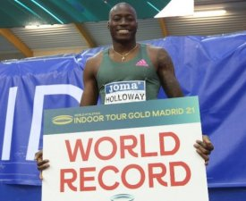 Meeting en salle de Madrid : Le record du monde du 60m haies battu par Grant Holloway
