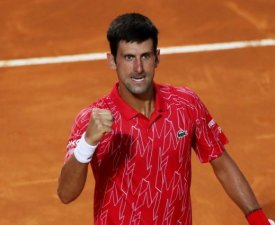 ATP - Rome : Qualification expéditive pour Novak Djokovic, Aslan Karatsev au tapis