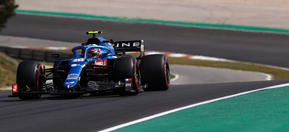 F1 - GP du Portugal : Ocon en progression avec Alpine