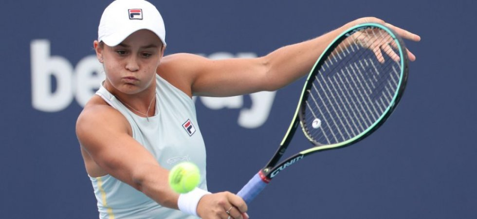 WTA - Charleston : Barty expéditive, Stephens sort Keys, Anisimova au tapis, Cornet en huitièmes
